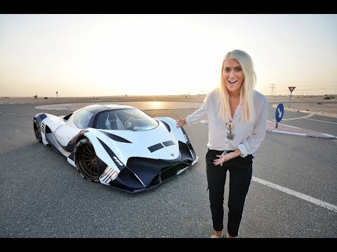 World's First Person To Drive THE DEVEL SIXTEEN - UCKSVUHI9rbbkXhvAXK-2uxA