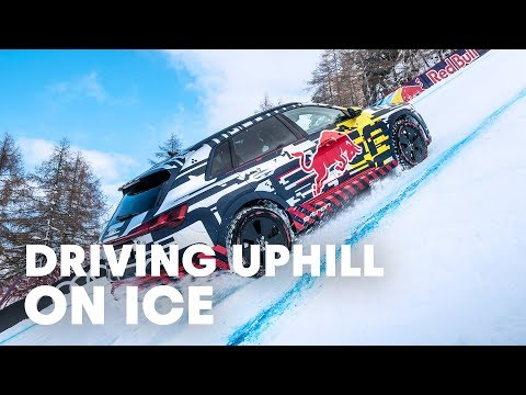 Mattias Ekström Drives Up World`s Most Challenging Ski Slope - UCblfuW_4rakIf2h6aqANefA
