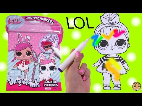LOL Surprise Magic Imagine Ink Rainbow Color Pen Surprise Picture Coloring Video - UCelMeixAOTs2OQAAi9wU8-g