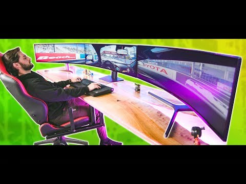"""Get on my level. - The 147"""" Surround Monitor Experience - UCXuqSBlHAE6Xw-yeJA0Tunw"""