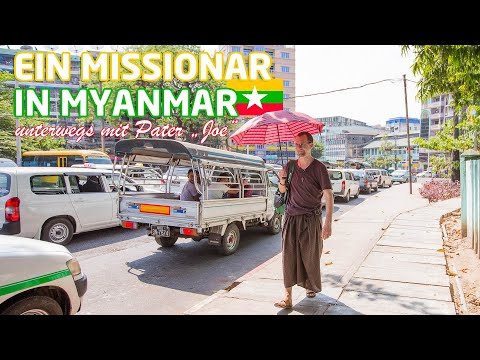 Ein Missionar in Myanmar