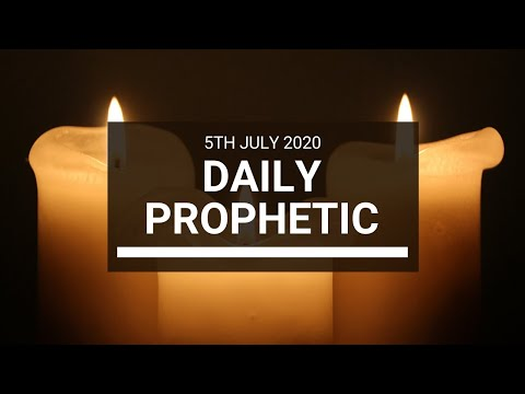 Daily Prophetic 5 July 2020 8 of 10
