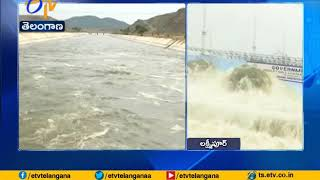 Water released from Yellampalli project | A report