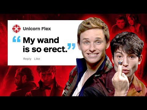 Fantastic Beasts Cast Respond to IGN Comments - UCKy1dAqELo0zrOtPkf0eTMw