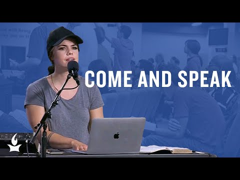 Come and Speak (spontaneous) -- The Prayer Room Live Moment