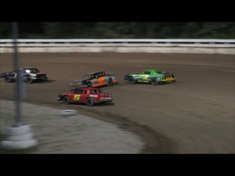 Thunder Stocks | Feature Race | Bubba Raceway Park | 8-20-16 - dirt track racing video image