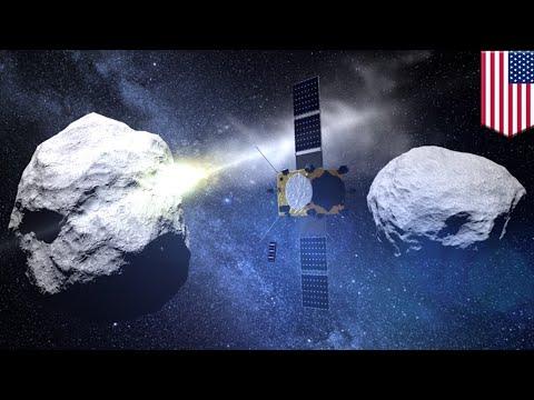 Asteroid defense: NASA to test plan that will deflect asteroids from crashing into Earth - TomoNews - UCt-WqkTyKK1_70U4bb4k4lQ