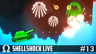 IT'S LIKE THE 4TH OF JULY! (FIREWORKS!) | Shellshock Live Multiplayer #13