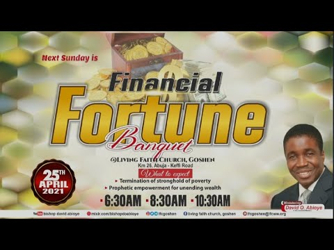 GATEWAYS TO FINANCIAL FORTUNE PT. 4A  1ST SERVICE  APRIL 25, 2021