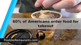 60% of Americans Order Food  | Food Facts | Poulsbo Restaurants