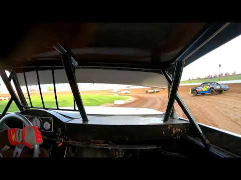 #21 Darren Phillips - Usra Stock Car - 5-8-2021 Lucas Oil Speedway - In Car Camera - dirt track racing video image