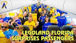 Legoland Florida Surprises Frontier Airlines Passengers with Free Tickets