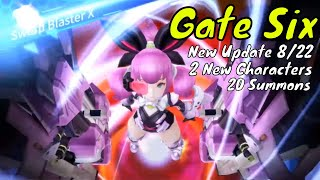 Gate Six: New Update/New Characters/Summons on the new banner