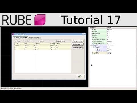 RUBE editor tutorial 17/18 - Custom properties - UCTXOorupCLqqQifs2jbz7rQ