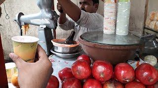 Pomegranate Juice | Fresh and Delicious Street Drinks Pomegranate Juice | Anar ka juice