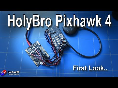First Look: HolyBro Latest Pixhawk 4 Flight Controller - UCp1vASX-fg959vRc1xowqpw