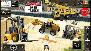 Construction Machines - Forklift - Builder City Truck Simulator - Android Gameplay Video #2