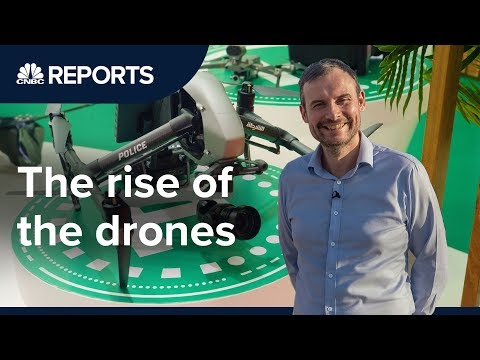 Drones are growing into a $100 billion industry | CNBC Reports - UCo7a6riBFJ3tkeHjvkXPn1g