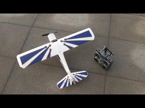 Mini RC Decathlon Trainer Plane Unboxing Review - UCsFctXdFnbeoKpLefdEloEQ