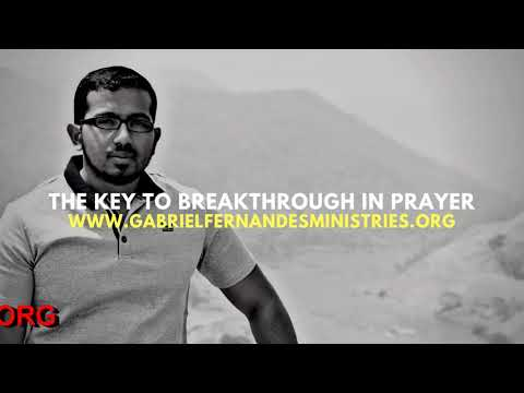 THE KEY TO BREAKTHROUGH IN PRAYER IS PERSISTENCE, Daily Promise and Powerful Prayer