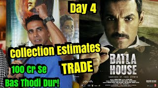 Mission Mangal Vs Batla House Box Office Collection Day 4 Estimates By Trade