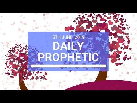Daily Prophetic 5 June 2019   Word 3