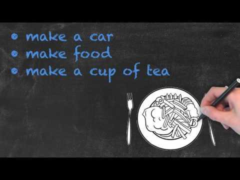 Do vs Make - English Grammar - Teaching Tips