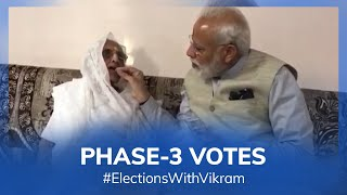 #ElectionsWithVikram: Phase 3 votes
