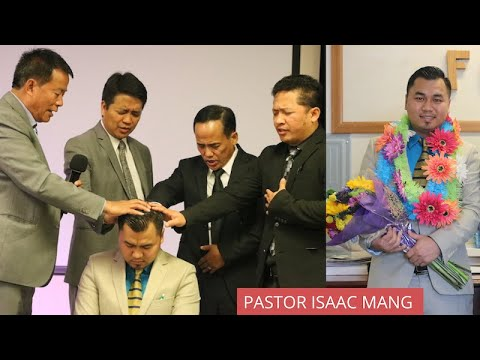 PASTOR  ISAAC MANG INSTALLATION PROGRAM