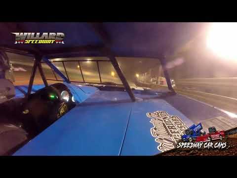 #02 Hunter Johnson- Mini Stock - 8-7-21 Willard Speedway - dirt track racing video image