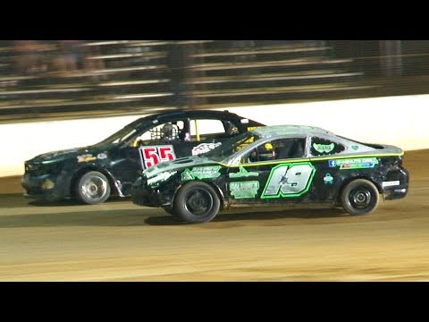 The Challenger Feature at Stateline Speedway (Busti, NY) on Saturday, June 29th, 2019! - dirt track racing video image