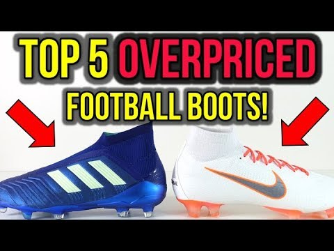 5668895221c76 TOP 5 MOST OVERPRICED FOOTBALL BOOTS THAT ARE NOT WORTH IT!  IMO ...