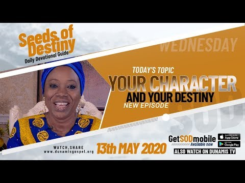 Dr Becky Paul-Enenche - SEEDS OF DESTINY  WEDNESDAY, 13 MAY, 2020