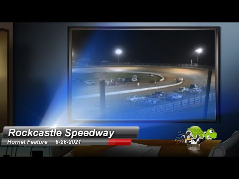 Rockcastle Speedway - Hornet Feature - 6/26/2021 - dirt track racing video image