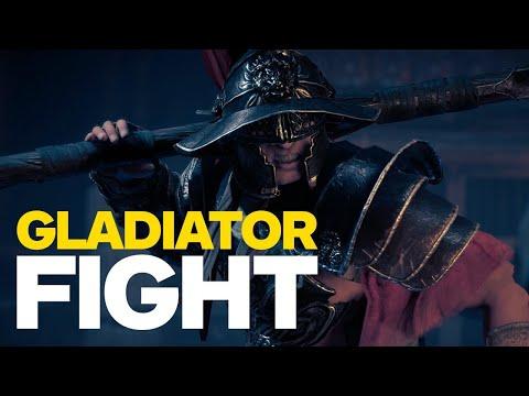 Assassin's Creed: Origins - Fighting A Gladiator (4K) - UCKy1dAqELo0zrOtPkf0eTMw