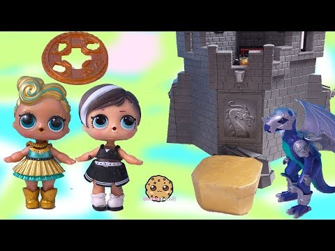 LOL Surprise Doll Treasure X Gold Dig At Dragon Castle ! Blind Bag Toy Video - UCelMeixAOTs2OQAAi9wU8-g