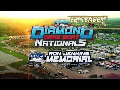 September 3rd-5th, 2021: Diamond Drag Boat Nationals & Lucas Oil MLRA Ron Jenkins Memorial - dirt track racing video image