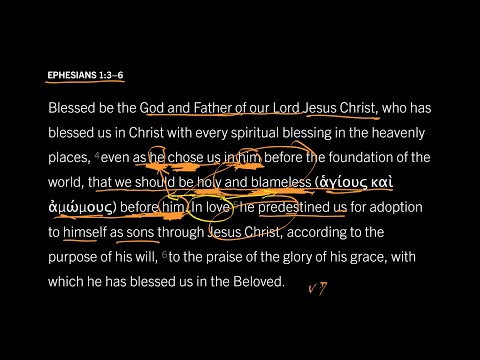 Ephesians 1:36 // Part 10 // God Is Preparing His Holy Bride