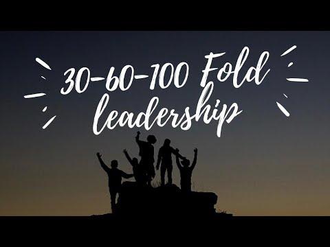 30-60-100 Fold Leadership