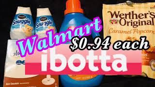 Walmart Ibotta Haul 8/8/19 Cheap Glucerna Couponing Crystle