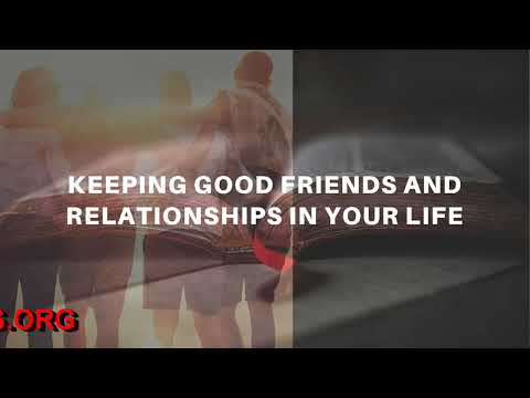 EVANGELIST GABRIEL FERNANDES SHARES A WORD AND PRAYS FOR YOU TO HAVE GOOD FRIENDS AND RELATIONSHIPS