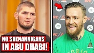 Khabib warns Conor McGregor about attending UFC 242 in Abu Dhabi; UFC 239 open workouts, Jon Jones