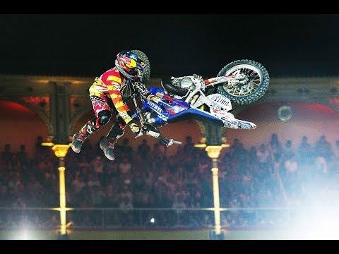 Historic Bike Flip in FMX competition - Red Bull X-Fighters Madrid 2014 - UCblfuW_4rakIf2h6aqANefA