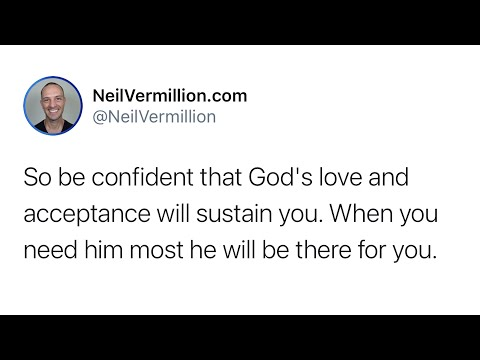 My Love And Acceptance Will Sustain You - Daily Prophetic Word