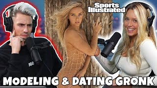 SI Swimsuit Model Camille Kostek on Dating Super Bowl TE Rob Gronkowski | Livin' Large Ep. 22