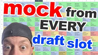 LIVE: 2019 Fantasy Football Mock Drafting from every draft slot... live!