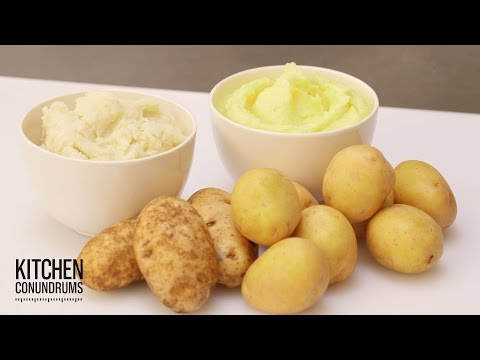 How to Make the Fluffiest Mashed Potatoes - Kitchen Conundrums with Thomas Joseph - UCl0kP-Cfe-GGic7Ilnk-u_Q