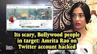 'Its scary, Bollywood people in target