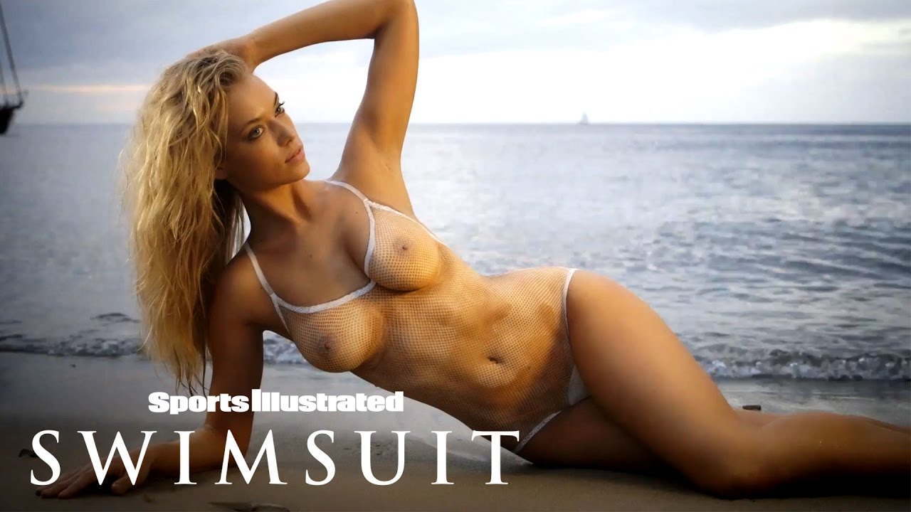 Hannah Ferguson Bears All In Body Paint Shoot   Sports Illustrated Swimsuit