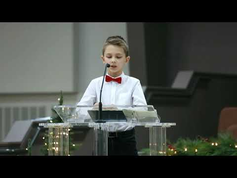 Tim Tikhonov preaching at Church of Hope, 12/22/2019